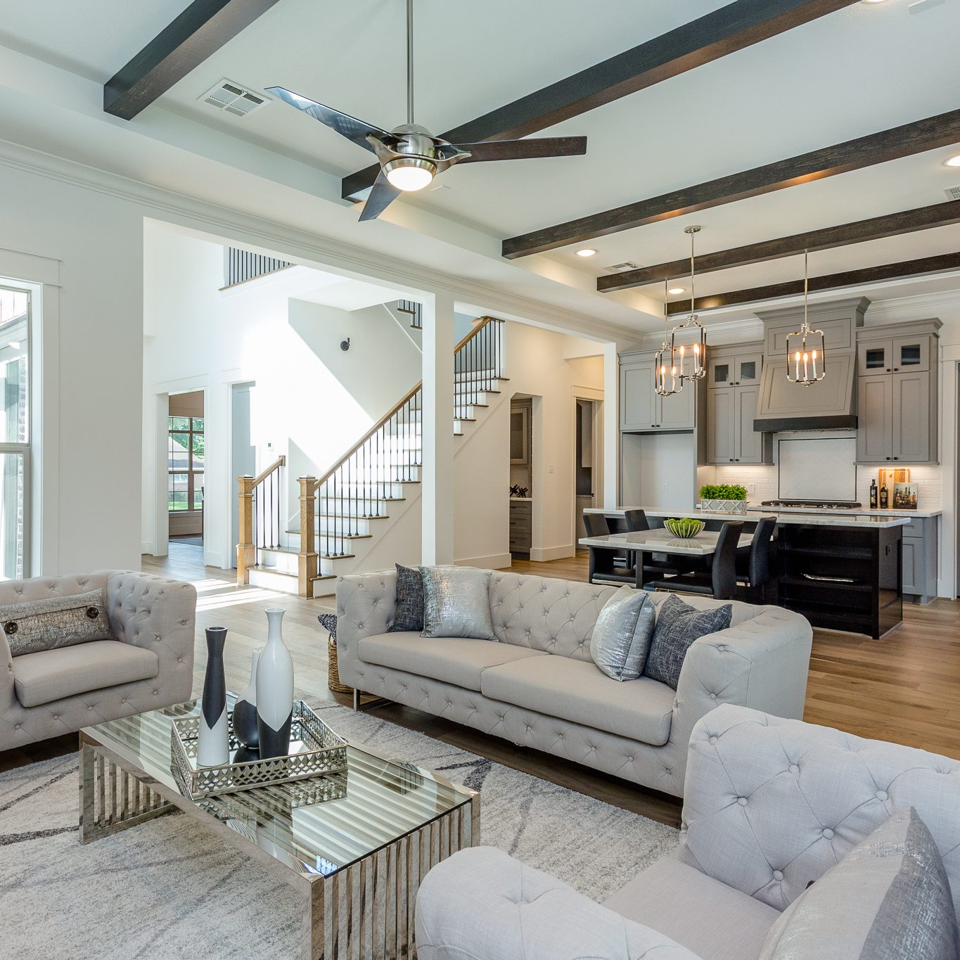 New Construction Staging