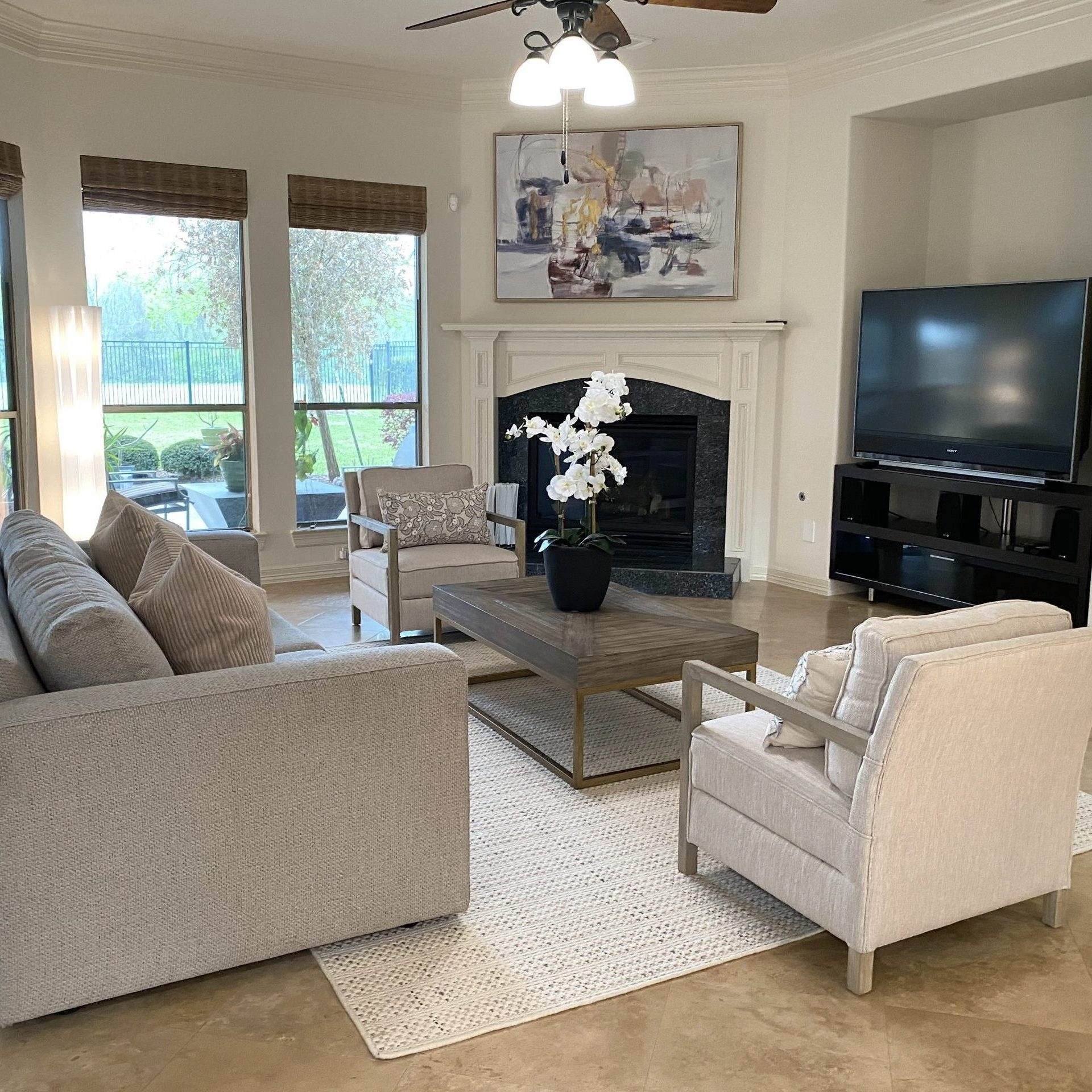 Homeowner Occupied Staging